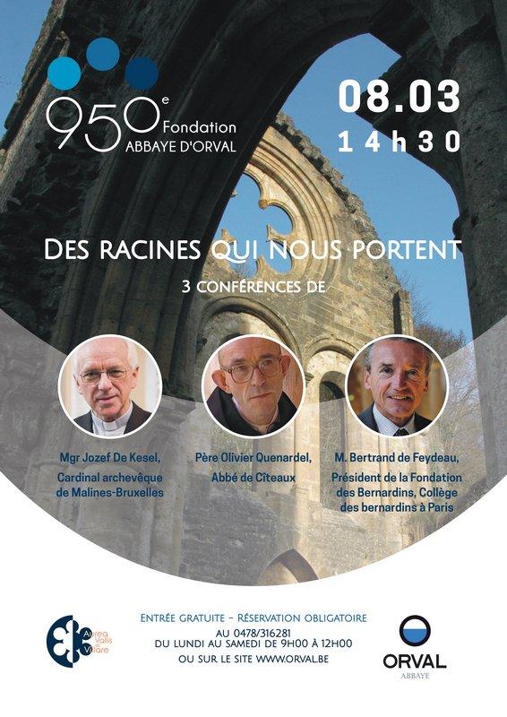 Orval - 8 mars 2020 - Conférences